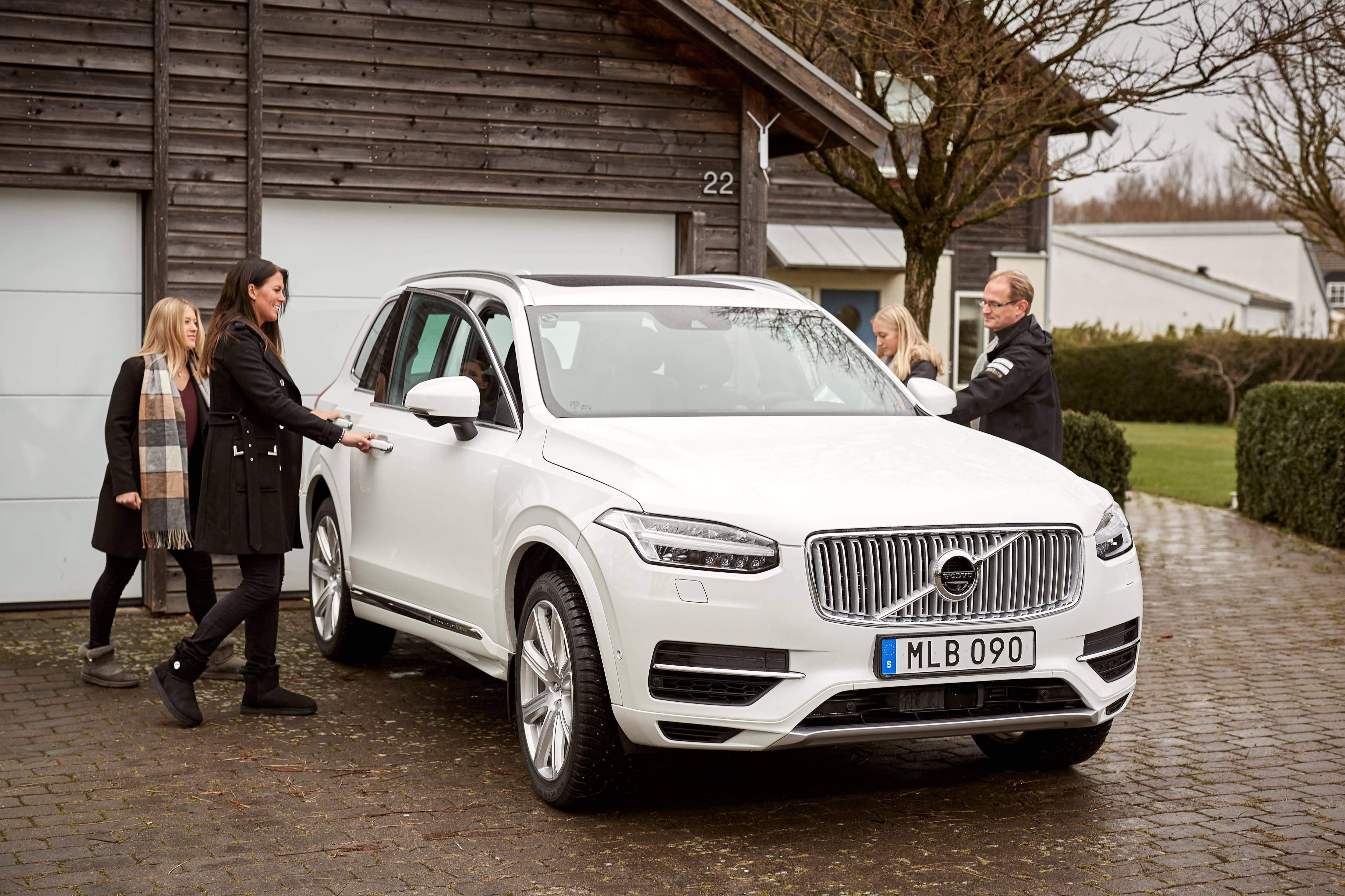 Volvo Drive Me – Familie Hain
