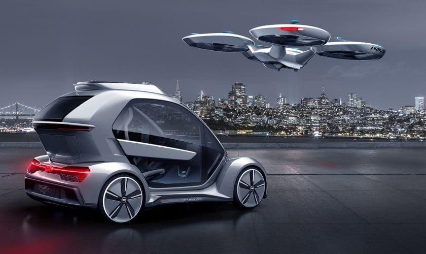 Audi-flyvende-bil-bagende