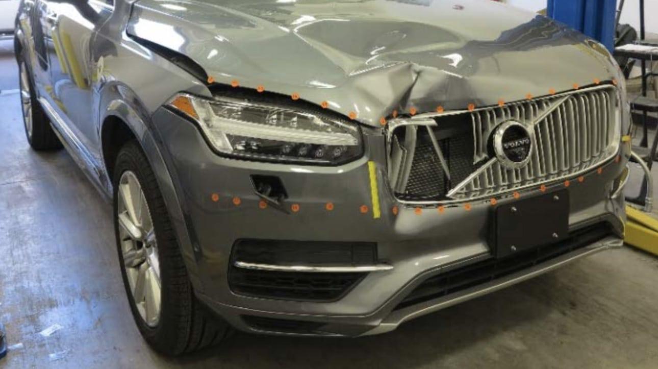 Uber-testbil-efter-sammenstød
