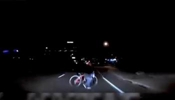 Uber-uheld-fodgænger