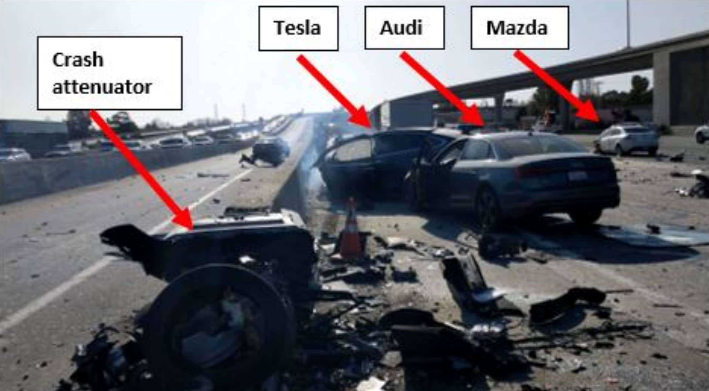 Tesla-X-dødsulykke-1