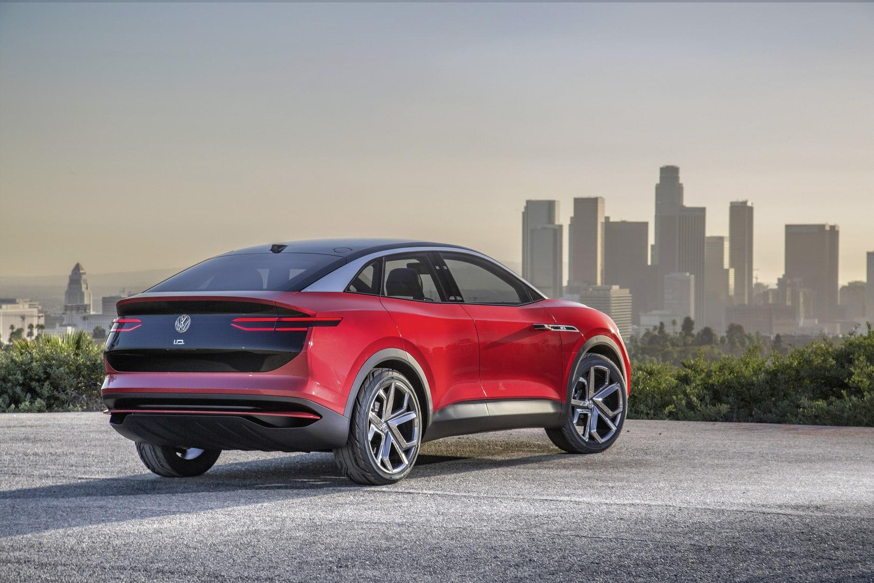 Die I.D.-Familie von Volkswagen auf der Los Angeles Auto Show 2017