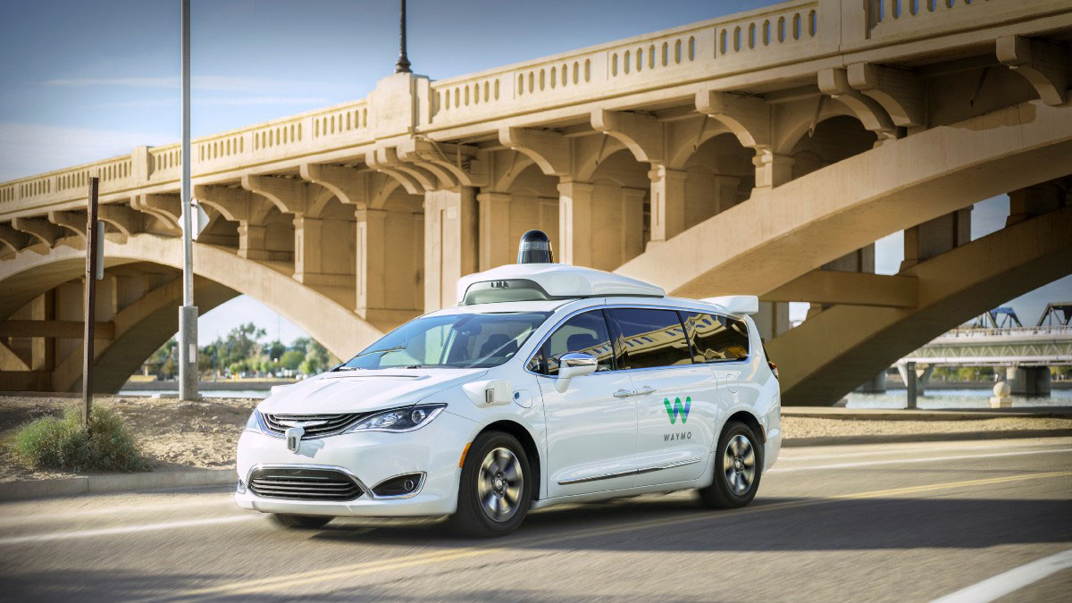 Waymo-one-on-road