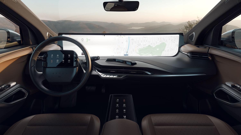 Byton-produktionsklar-kabine