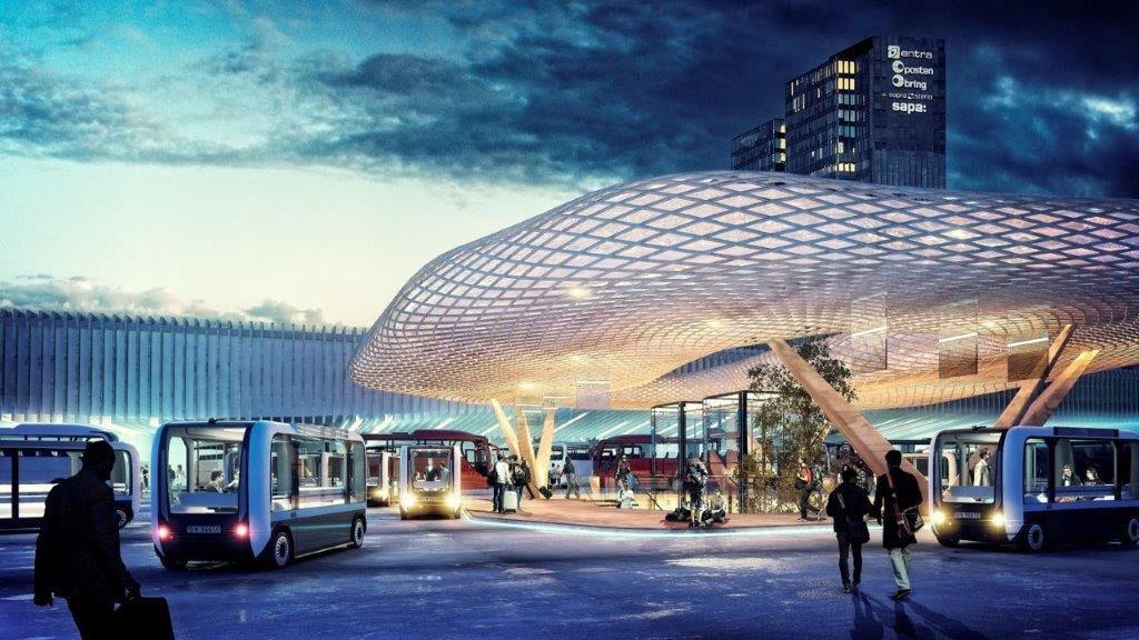 Oslo-selvkørender-bus-autonomous-mobility