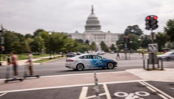 Ford Autonomous Vehicles in D.C.